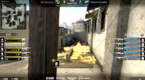 Видео триумфальной битвы Na'Vi против SK Gaming на ELEAGUE Major