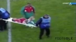 Медпомощь на футбольном поле