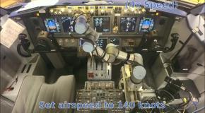 Робот успешно посадил виртуальный пассажирский самолет