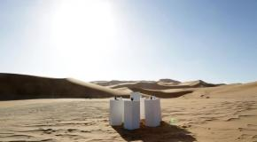 В африканской пустыне включили вечную песню