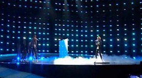 Евровидение 2010-Chanee & N'evergreen(Дания) первая репетиция