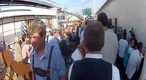 Один день дедушки на Oktoberfest