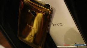 Золотой HTC One - обзор