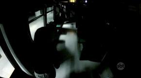 Пугающий розыгрыш с призраком девочки в вагоне метро