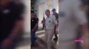 Путин после погружения на дно вышел к севастопольцам
