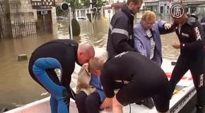 5,5 тысяч человек эвакуировали во Франции из-за наводнений