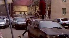 Киевские бабки против BMW X5