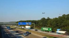 Сумашедший трафик во Франкфурте
