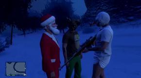 Рождество в GTA V