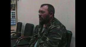 Вооруженное нападение в Новоайдаре: допрос