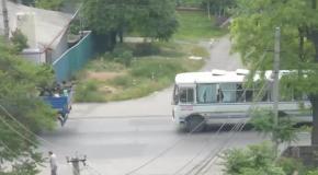 АТО в Донецке 28 мая: по городу передвигается военная техника