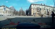 Как в России пешеход светофор чинил...