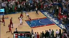 Последние секунды вылета Чикаго Буллс из плей-офф 2012