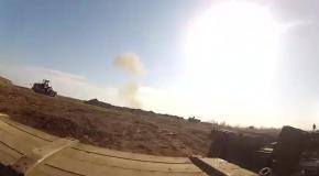 На границе с РФ обстреляли украинских военных