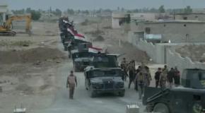 Иракская армия наступает на город Мосул, захваченный ИГИЛовцами