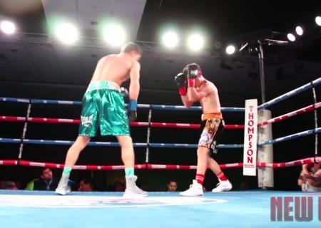 Украинский боксер Шелестюк одержал юбилейную победу изащитил титул WBO