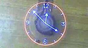 Вращающиеся часы