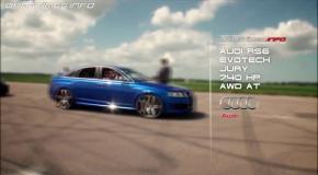 Audi RS6 Evotech vs BMW M3 ESS vs BMW M5 vs Mercedes C63 AMGundefined