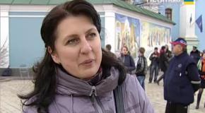 На Михайлівський площі поломолилися за мир в Україні
