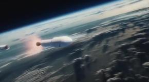 Анимация запуска Falcon Heavy