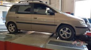 Замер мощности и момента двигателя на диностенде - Hyundai Matrix
