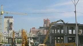 Срос торгового центра у НСК Олимпийский