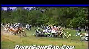 Bikes Gone Bad - dirt bike crash video