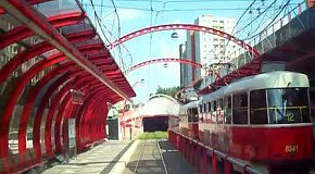 Трамвайный маршрут Праги