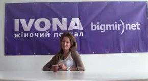 Жанна Бадоева в гостях у IVONA bigmir)net