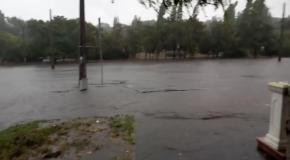 Ливень в Одессе 20 09 2016