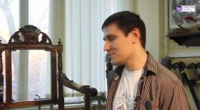 Реставрация мягкой мебели  перетяжка кресла