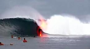 Серфинг на горящей доске