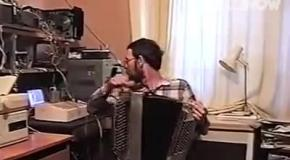 Русский хакер в действии
