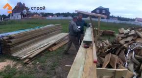 Проекты деревянных домов. Рассказываем и показываем о всех этапах строительства после установки стен. 4 Часть