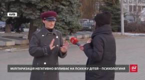 В Криму окупанти змушують дітей рити окопи і ходити строєм: шокуюче відео