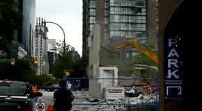 Неудачный снос здания часть 2