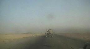Взрыв придорожной мины в Ираке