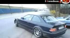 Обезбашенный на BMW!!!