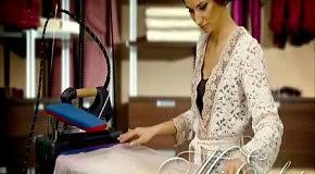 Современная гладильная техника:Отпариватель MIE.