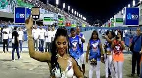 Девушка с карнавала в Бразилии