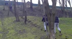 Бег по знаменитым пенькам Януковича в освобожденном Межигорье