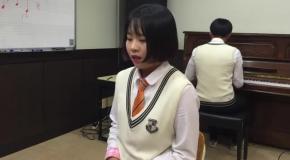 Кавер корейской школьницы на песню Adele «Hello» взорвал Интернет