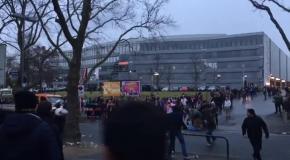 Фанаты Боруссии Дортмунд и Лейпцига устроили массовую потасовку после матча