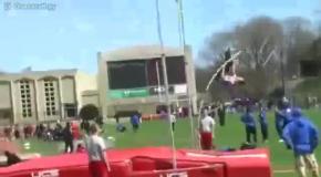 Удачный прыжок с неудачным концом