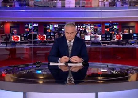 Две мин. молчания: ведущий BBC «проглотил язык» впрямом эфире