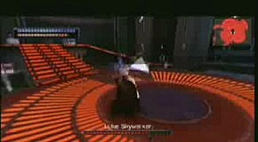 Star Wars The Force Unleashed PSP gameplay