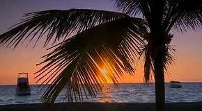 Закат на Гаваях