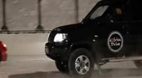 Автомобильное танго на льду