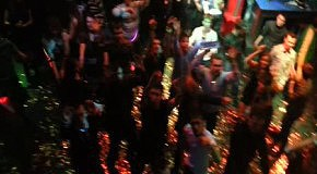 Topless DJ Aurika  in Indigo club