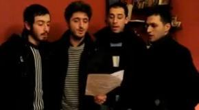 Гимн Украины в исполнении грузинов